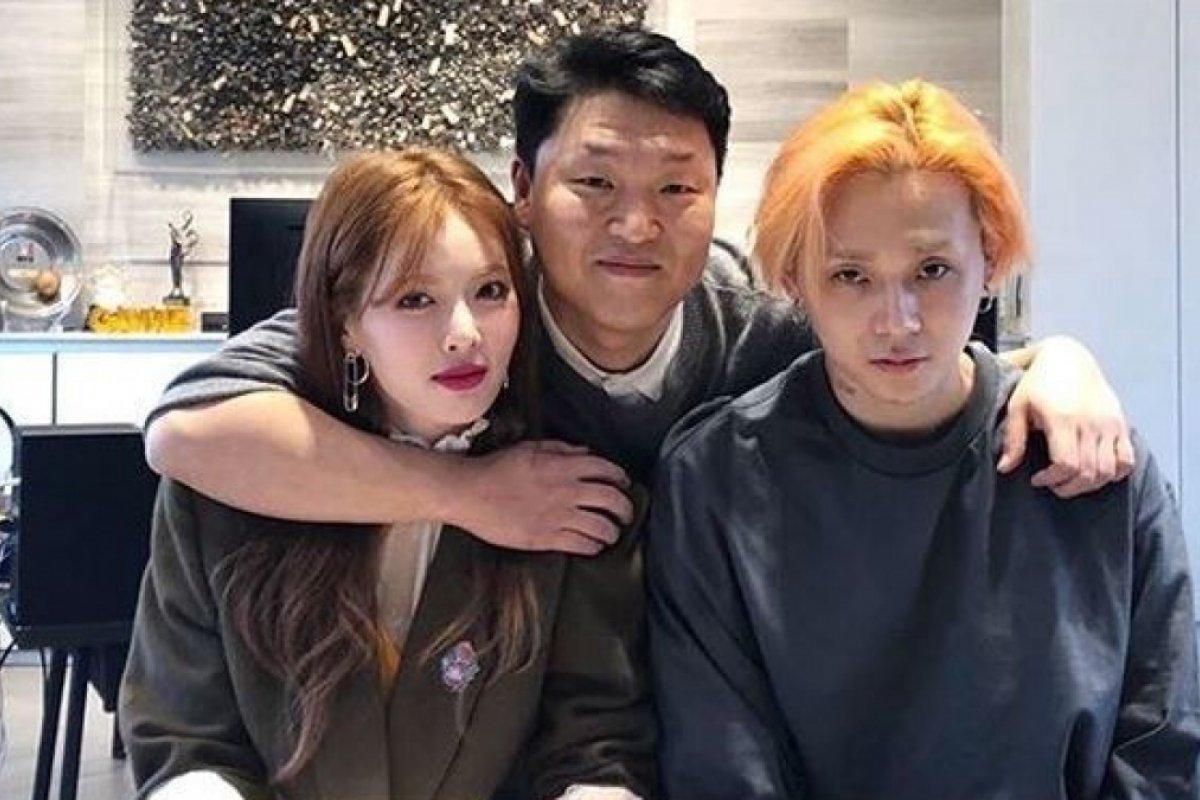 HyunA hace su comeback con FLOWER SHOWER junto a Dawn y PSY