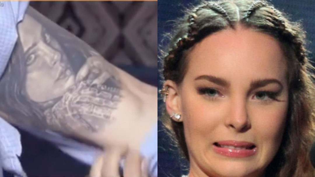 Tatuaje De Lupillo De Belinda, Tatuaje De Belinda En El Brazo De Lupillo Rivera, Lupillo Rivera, Belinda, Lupillo Y Belinda, Lupillo Rivera Tatuaje Belinda