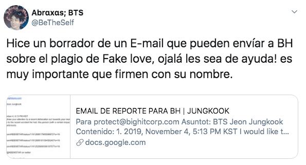 "Cantante italiano plagia ""Fake Love"" de BTS"