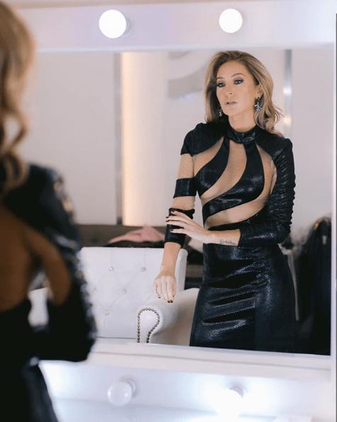 Geraldine Bazán reacciona a fotos de sus hijas con Irina Baeva