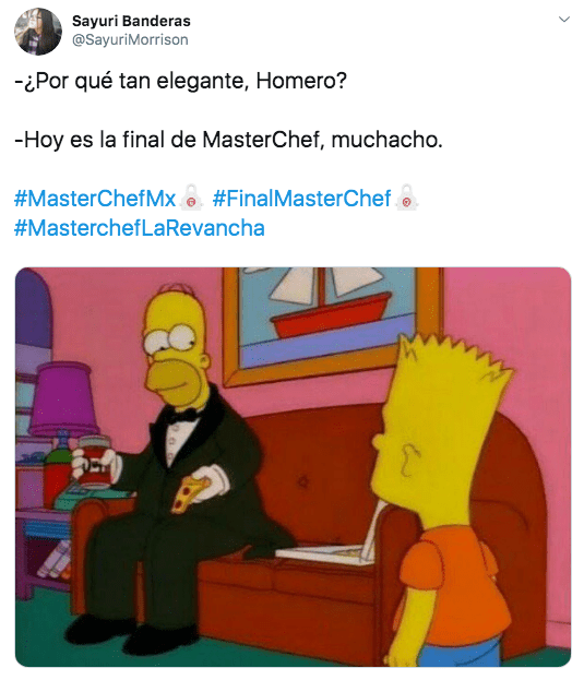 Memes del final de Master Chef La Revancha