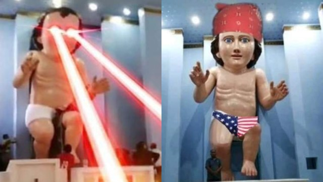 18 memes del Niño Dios gigante que te garantizan un pase directito al infierno