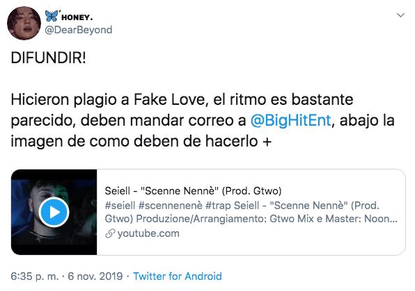 Acusan a cantante italiano de plagio