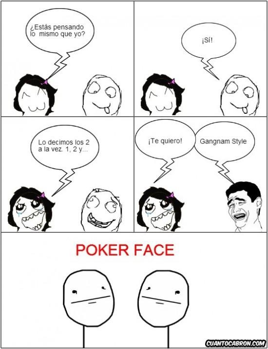 Meme de Poker Face en 2010 nació en 4chan