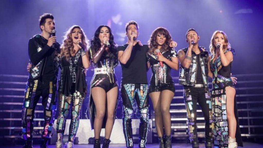 OV7 y 90s Pop Tour: Lidia Ávila y Ari Borovoy explotan en en pleno concierto