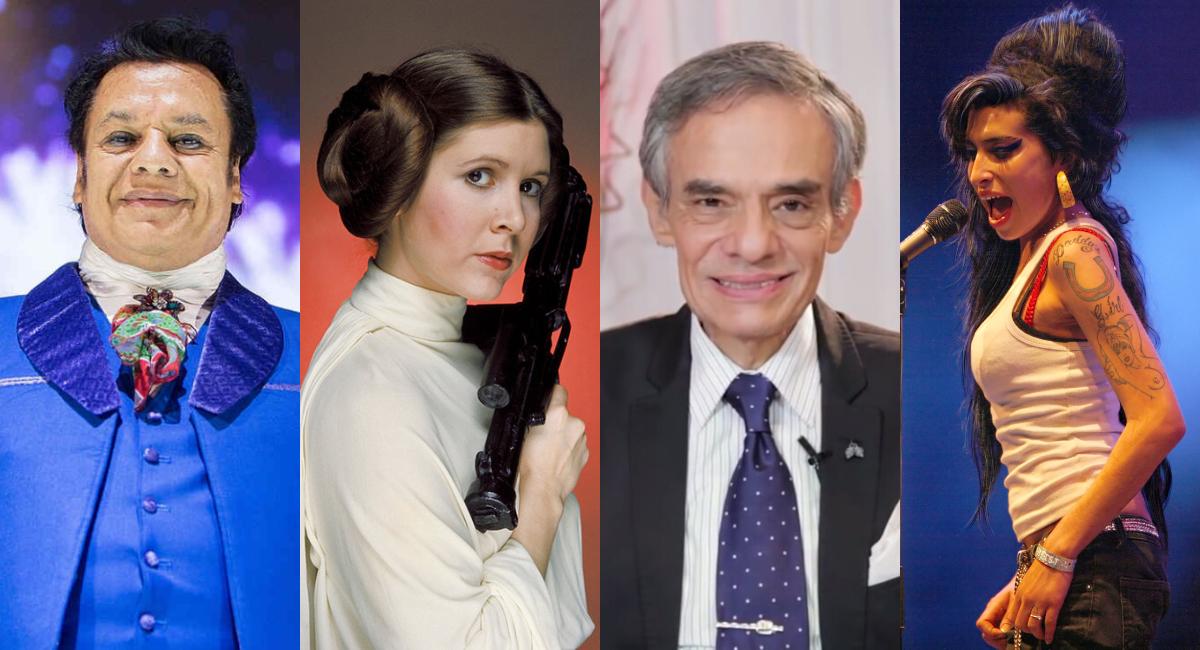 Las 50 celebridades más importantes que murieron esta década