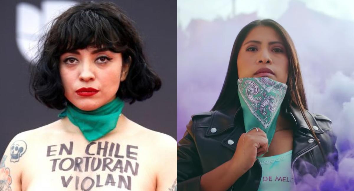 Mon Laferte junto a Yalitza Aparicio en video de Plata Ta Tá