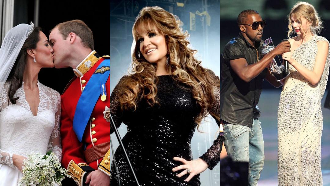 Los chismes de famosos que marcaron la década 2010 2019