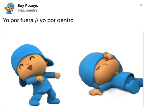 Memes de Pocoyó niña y su descubrimiento