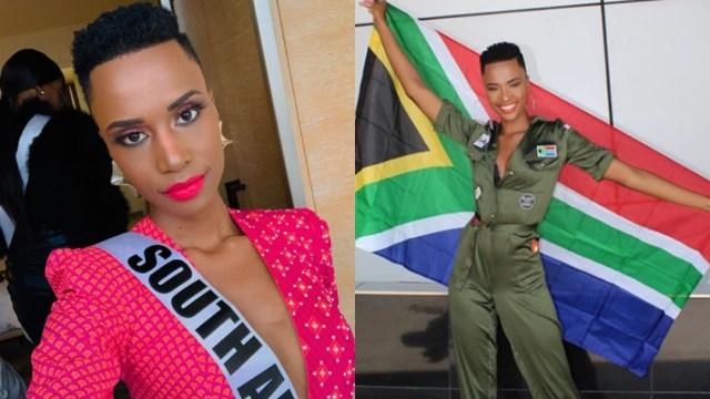 Zozibini Tunzi la ganadora de Miss Universo 2019