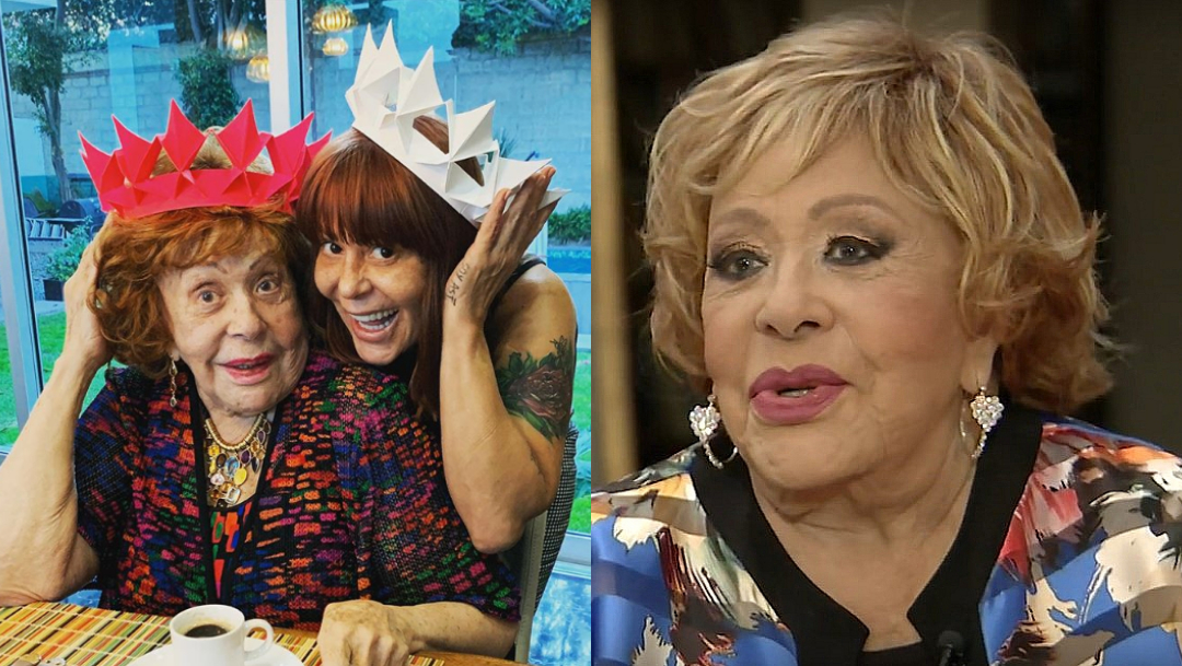 Silvia Pinal defiende a Alejandra Guzmán tras cirugías