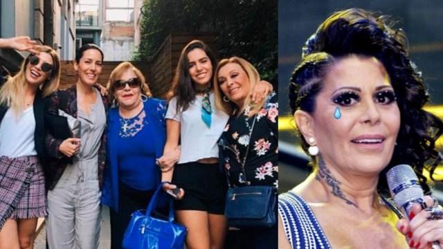 Stephanie Salas deja fuera de su familia a Alejandra Guzmán