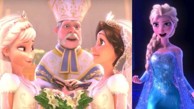 VIDEO: Señora grita que Frozen es de lesbianas y del diablo
