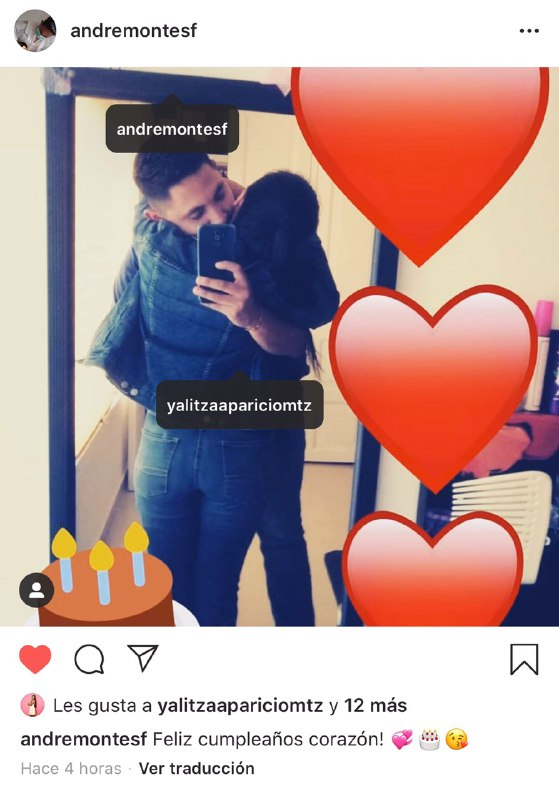 Novio de Yalitza Aparicio la felicita por su cumpleaños