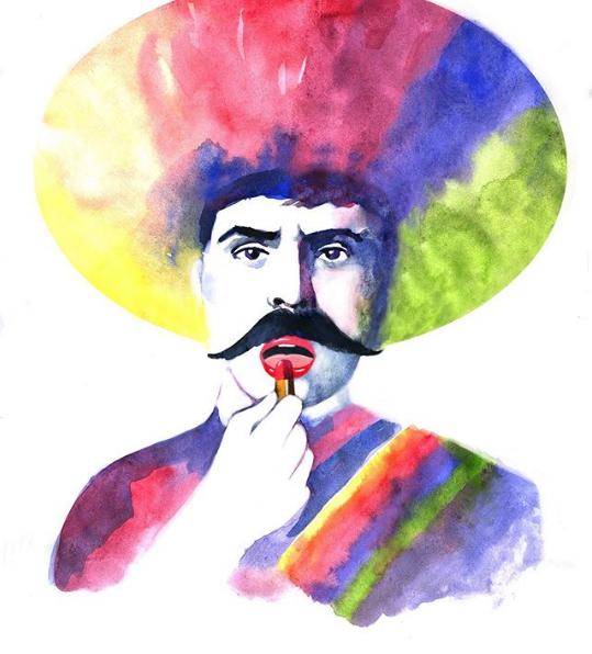 Obras inspiradas en el Zapata Gay de Fabián Cháirez