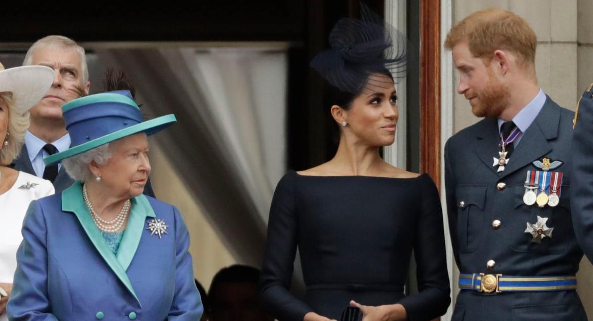 Meghan Markle y el Príncipe Harry expulsados de la realeza