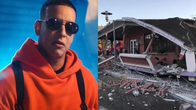 Daddy Yankee dona su fortuna para afectados por el terremoto