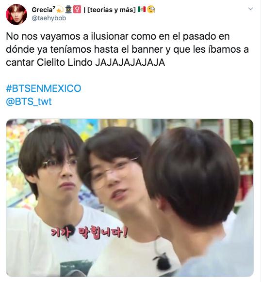 Memes de BTS en México en 2020