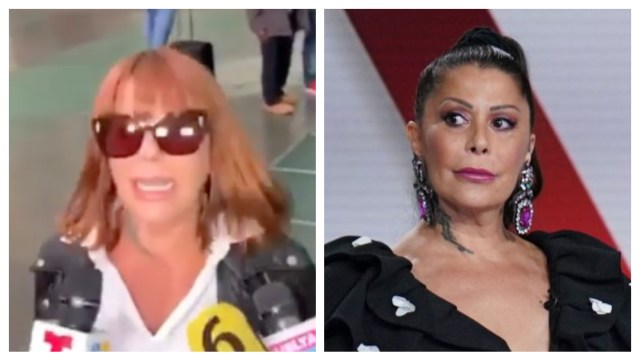 Alejandra Guzmán ataca a reporteros en el aeropuerto