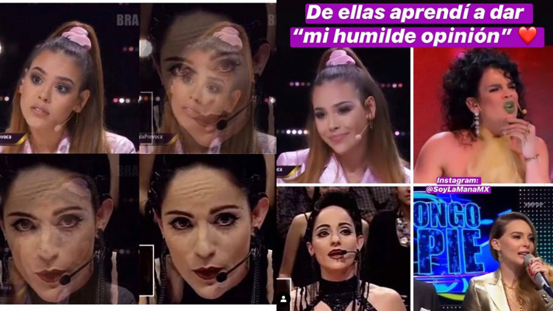 "Memes de Danna Paola en ""La Academia"" tras llamarla ""culera"""