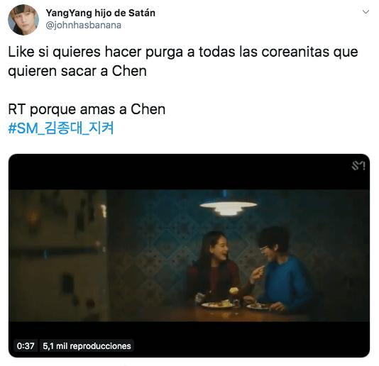 Fans de EXO piden expulsión de Chen tras anunciar su matrimonio