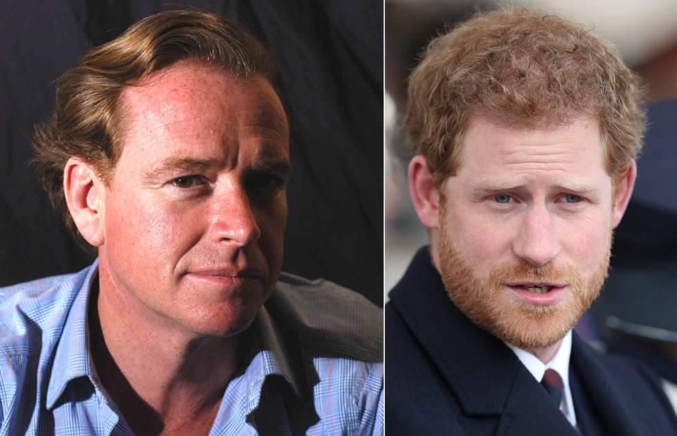 Príncipe Harry no es hijo de Carlos sino de James Hewitt
