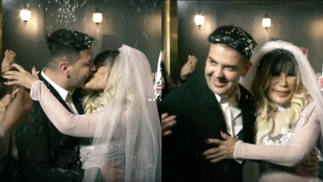 """Lyn May """"se casa"""" con su novio Markos D1 en video musical"""