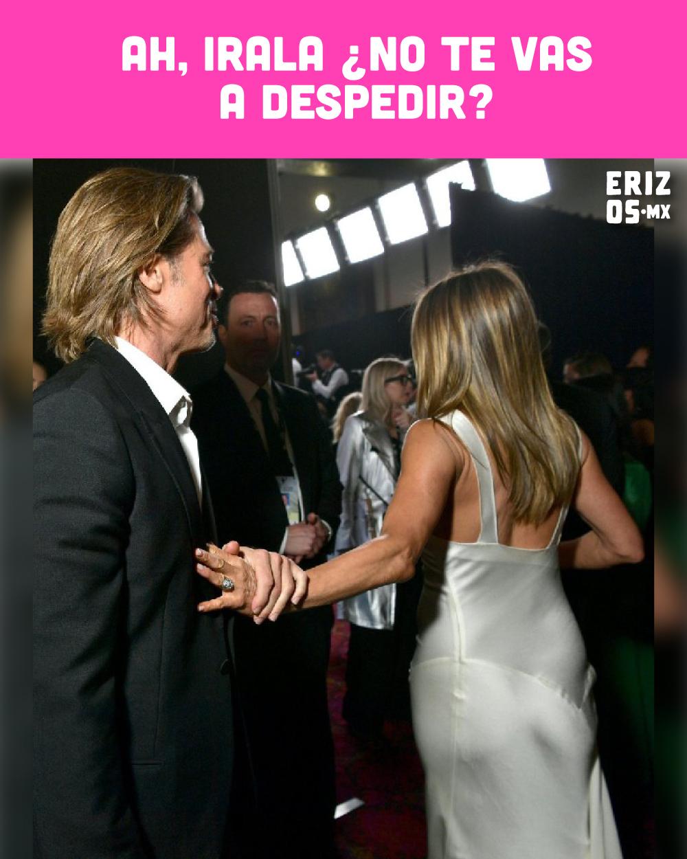 Brad Pitt y Jennifer Aniston se reencuentran en los SAG Awards 2020