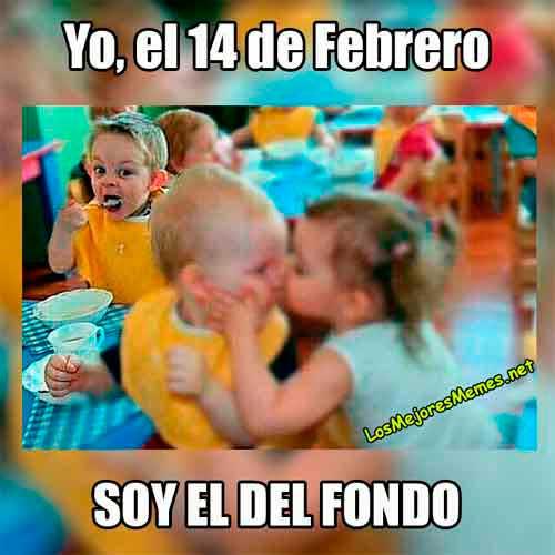 memes 14 de febrero soltero