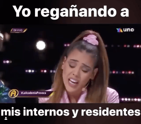 Memes de Danna Paola en La Academia