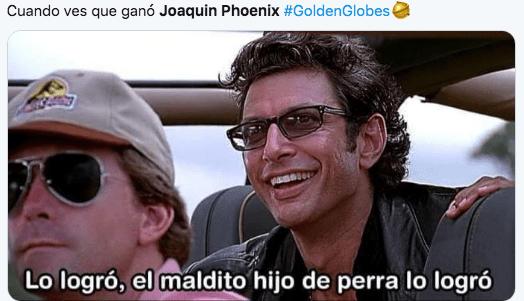 Memes globos de oro 2020