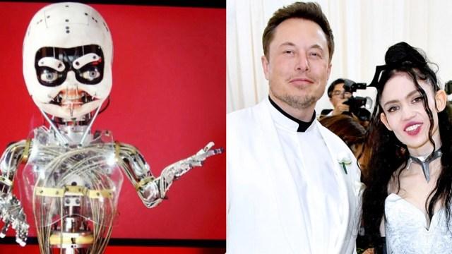 Foto Grimes Embarazo Elon Musk 2020