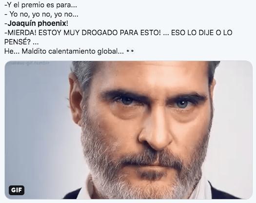 Memes de Joaquin Phoenix 2020