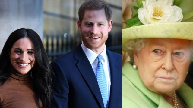 Reina Isabel II acepta renuncia de Harry y Meghan Markle