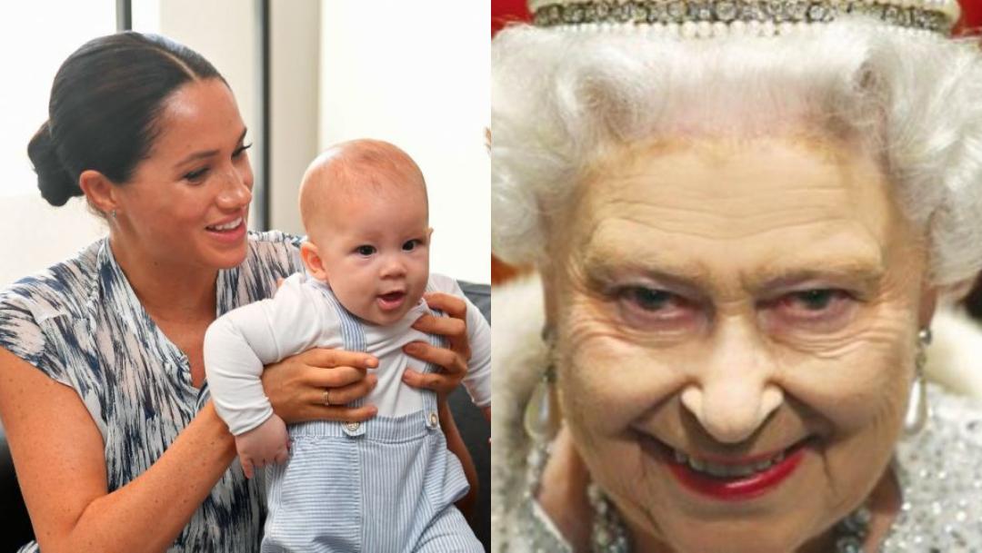 Reina Isabel II tiene custodia del hijo de Harry y Meghan
