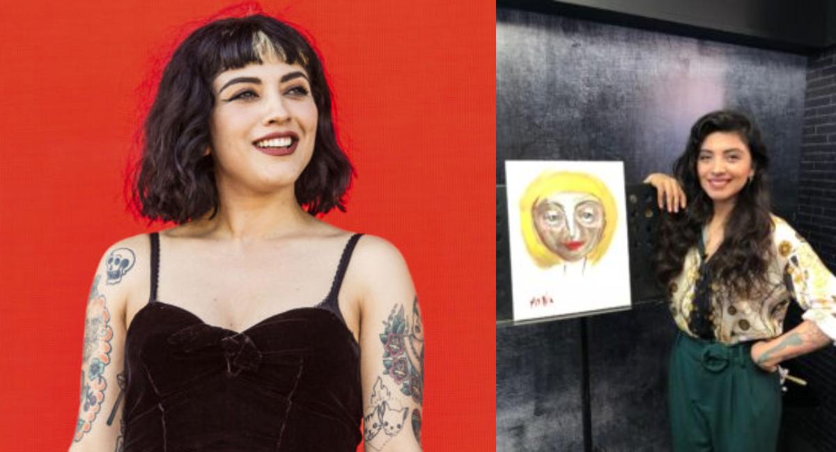 Mon Laferte debuta como pintora en la Ciudad de México