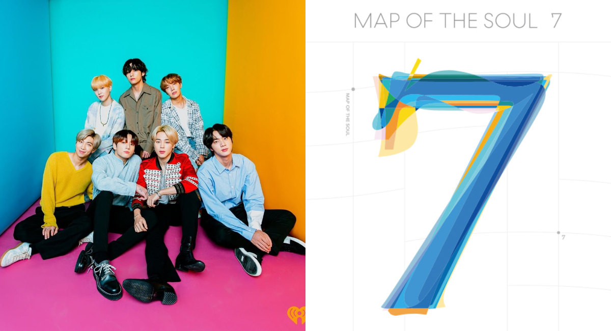 Los récords que debe romper Map Of The Soul 7 de BTS