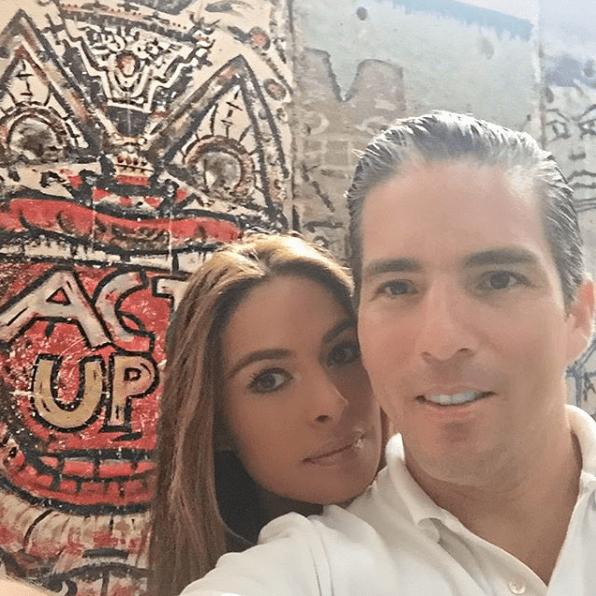 Galilea Montijo revela que su esposo tenía novia cuando lo conoció