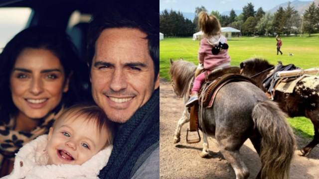 Hija de Aislinn Derbez y Maurcio Ochmann cumple 2 años