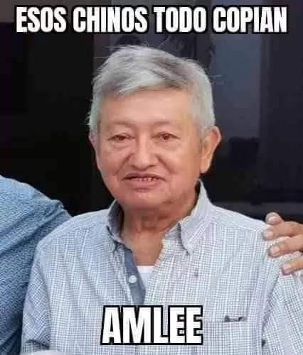 Meme del AMLO chino