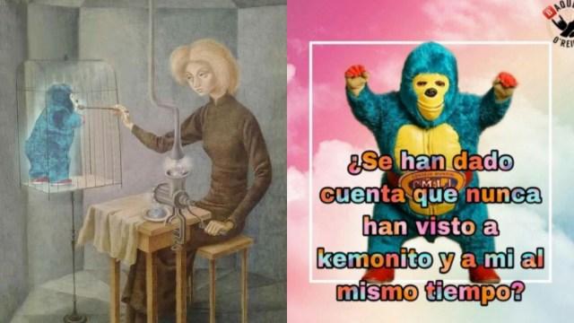 Memes de Kemonito, la patada, el luchador y su origen