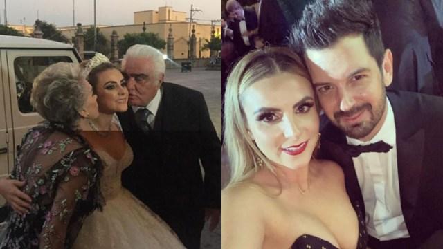 Nieta de Vicente Fernández, Sissi Fernández, se casa