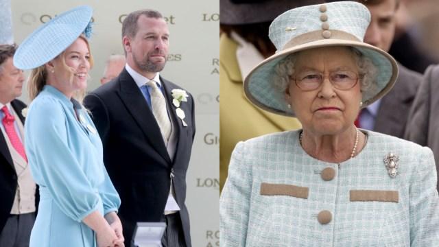 Peter Phillips, nieto mayor de reina Isabel II, se divorcia