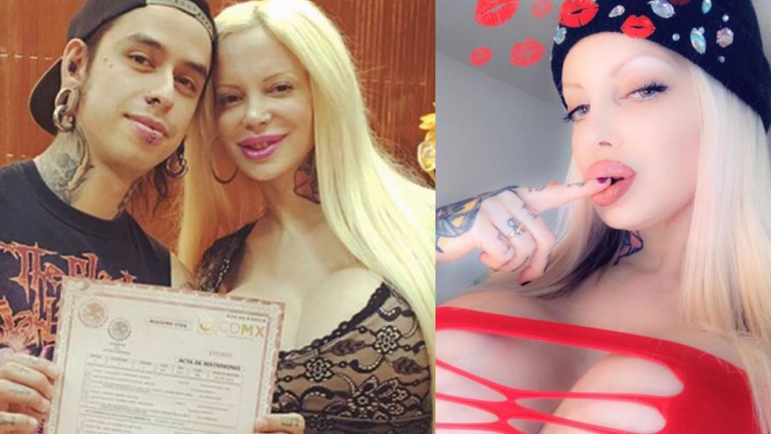 Sabrina Sabrok denuncia que su esposo intentó estrangularla
