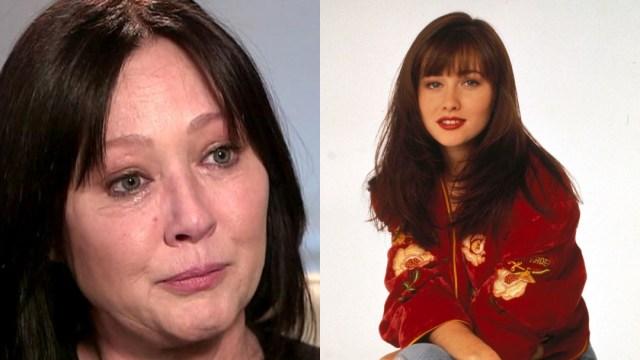 Shannen Doherty de 'Beverly Hills 90210' recae en el cáncer