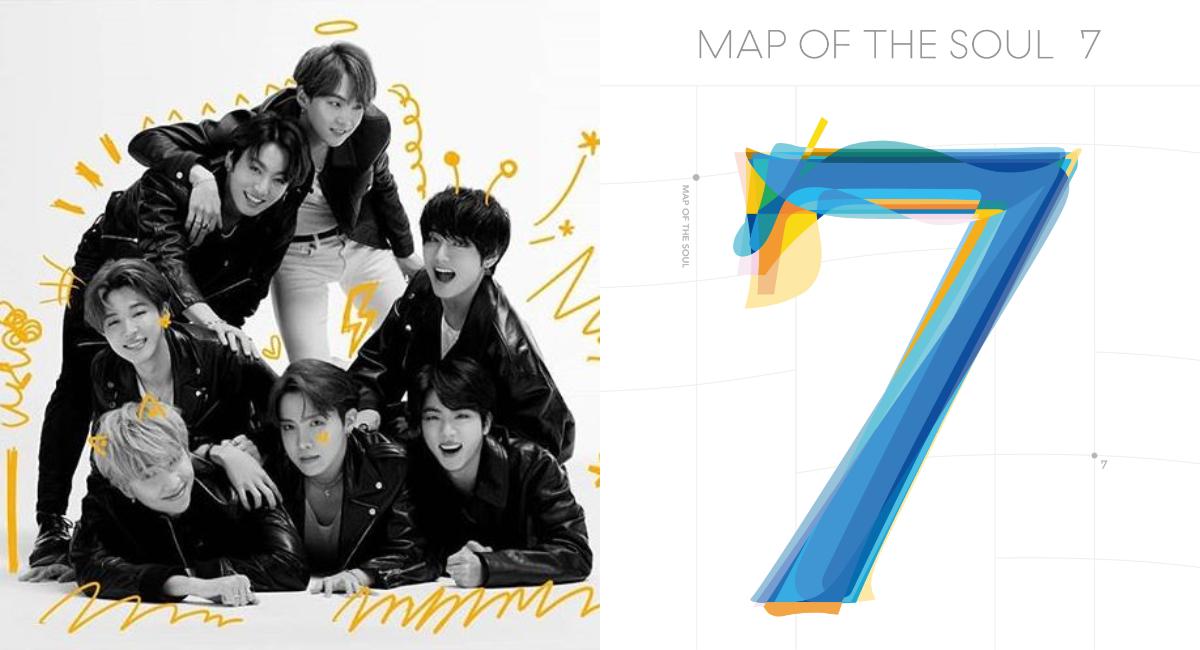 BTS: Conoce el tracklist de Map of The Soul: 7