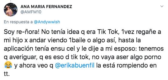 Erika Buenfil es la nueva reina de TikTok