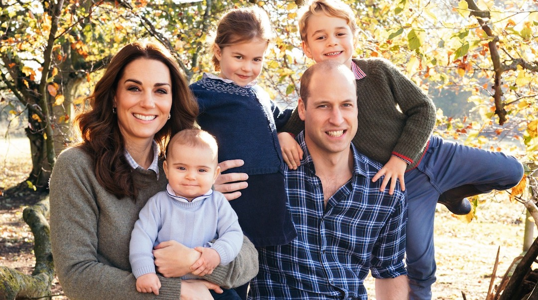 Foto William Kate Hijos 28 Marzo 2020