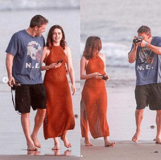 Ana de Armas confirma relaciòn con Ben Affleck