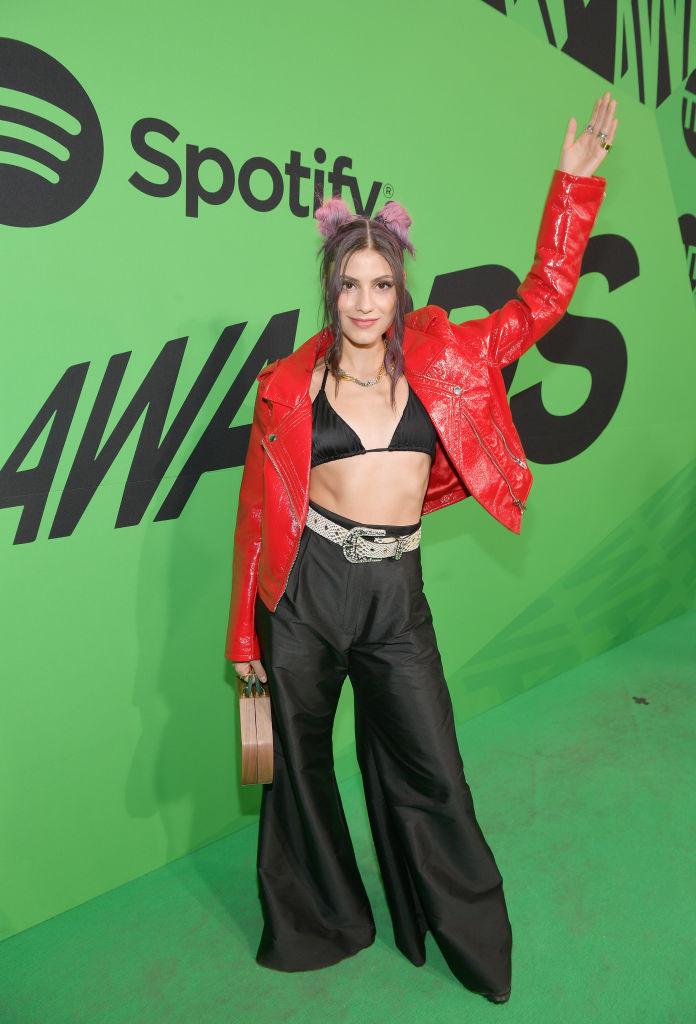 Alfombra verde Spotify Awards México 2020